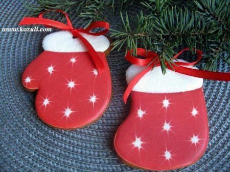 Новогодние пряники. Новогодние имбирные пряники Варежки-носочки. Новогоднее печенье, рождественское печенье