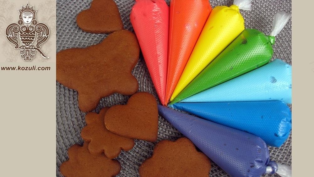 Айсинг. Приготовление, консистенции и окраска