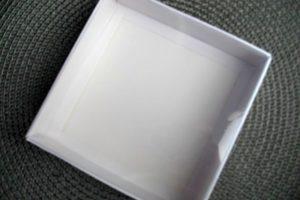 Коробка 15х15х3см