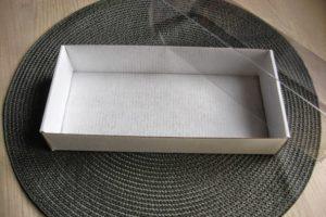 Коробка 21х10х2.5см