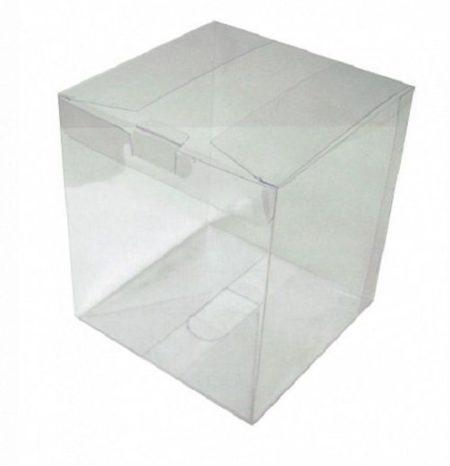 Коробка прозрачная 15х15х17см пластиковая