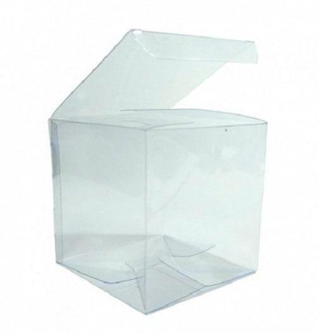 Коробка прозрачная 9х9х9см пластиковая