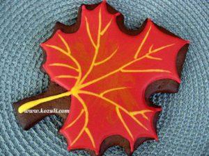 Пряник Кленовый лист
