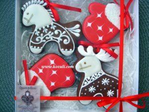 Новогодние пряники, новогоднее печенье, набор