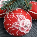 Новогодние пряники, новогоднее печенье. Пряники на елку Елочные шары