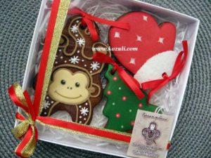 Новогодние пряники, новогоднее печенье. Набор с символом года