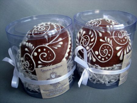 Новогодние пряники. Пряничные шары на елку, упаковка