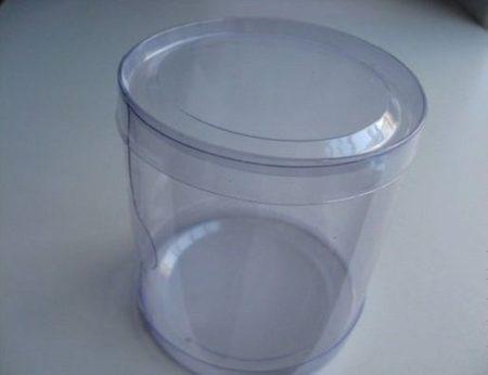 Туба прозрачная 8.5х8.5х8.5 пластиковая
