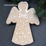 Рождественские пряники. Пряник Рождественский ангел
