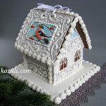 Пряничные домики. Пряничный домик Новогодний