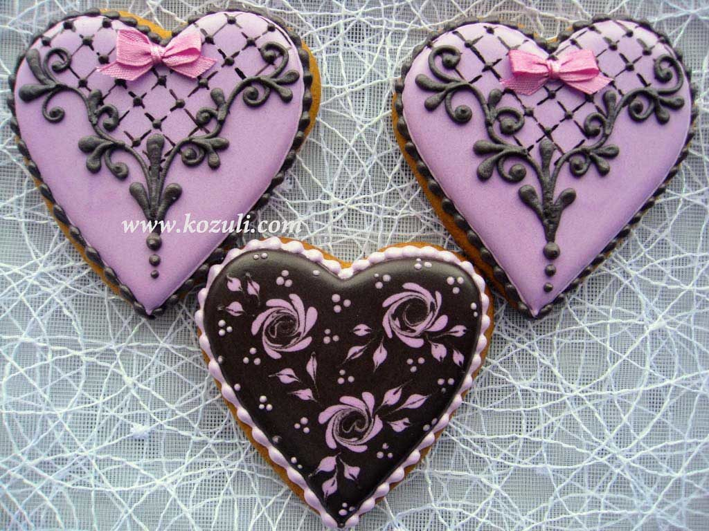 Пряники на День влюбленных