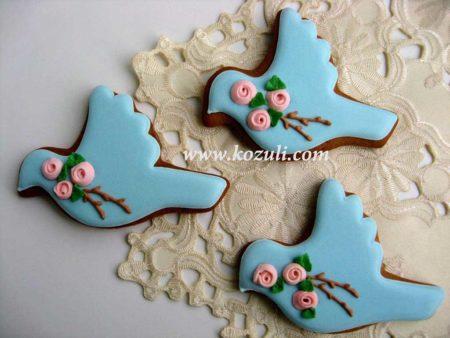 Пряники Весенние птички